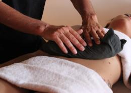 Massaggio con Argilla Calda